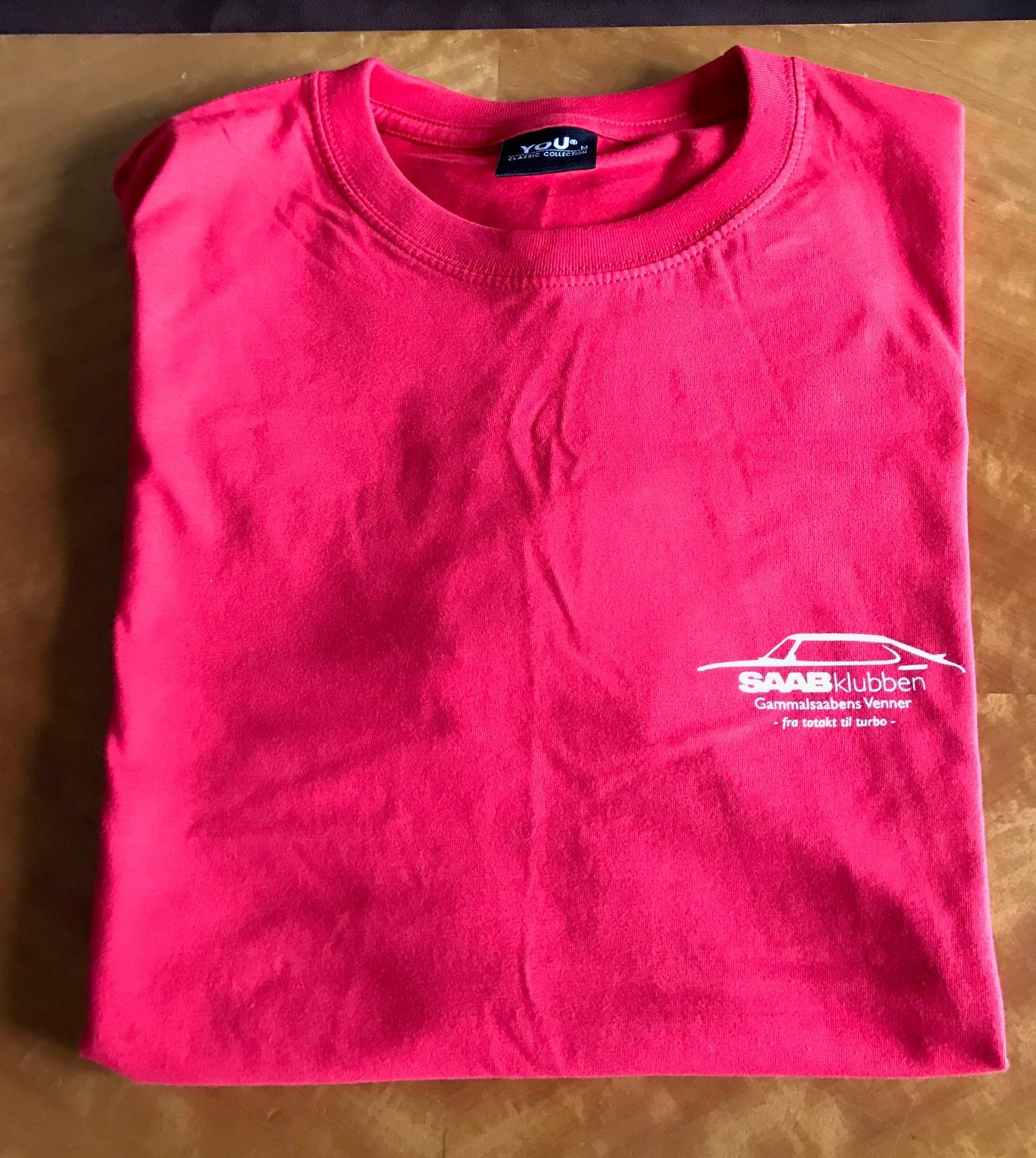 c97f3b1b GSV T-skjorte rød (ny logo) - Gammalsaabens Venner